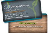 Strategic Planning Business Cards