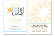 CND Events Business Card